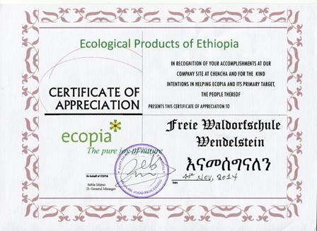 Blog - Ethiopia project of the Freie Waldorfschule Wendelstein